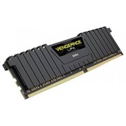 Corsair CMK8GX4M2A2400C14 Vengeance LPX 8GB (2x4GB) DDR4 2400Mhz CL14 Mémoire pour ordinateur de bureau haute performance avec profil XMP 2.0. Noir
