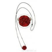 Náhrdelník LS Fashion LSN005 červený