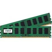 Crucial CL11 Mémoire RAM DDR3 2 Go (2 x 1 Go) PC3-12800 800 MHz
