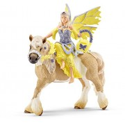 Schleich Sera in Festive Dress on Horseback Toy Figure