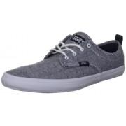 Vans M QUINN (WASHED TEXTILE) VQGT7XT - Zapatillas de lona para hombre, marino/blanco (navy/white)
