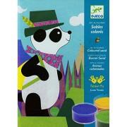 Djeco Panda and Friend Sand Art Kit
