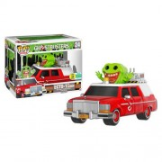 Ghostbusters ECTO-1 & Slimer Pop! Ride & Vinyl Figure SDCC 2016 Exclusive