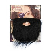 Men's Black Pirate Beard