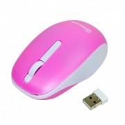 MSONIC mouse-ul optic fără fir MX707P 3D, 1000DPI, 2.4GHz, roz și alb