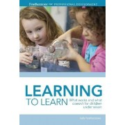 Learning to Learn by Sally Featherstone