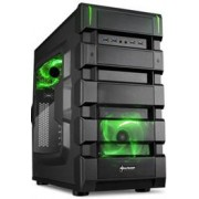 Sharkoon BD28 ATX Format PC Case - Green, ATX