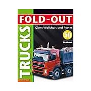 Fold-out Trucks plus Giant Wallchart & 50 big stickers (Fold-Out Poster Sticker Books)