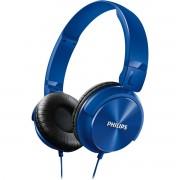 Philips Shl3060Bl/00 Fone de Ouvido Estilo Dj com Graves Nítidos Azul