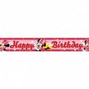 Banner folie HAPPY BIRTHDAY Minnie Mouse