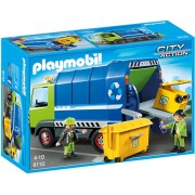 Playmobil City Action - Cleaning, Camion de reciclare