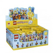 LEGO Minifigures 6100812 - Minifigure Simpson, Serie 2015IP v/29, Box con 60 Bustine