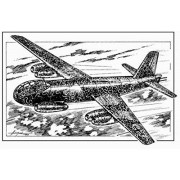 Modellino Aereo Junkers Ju 287V3 (A-1) Scala 1:72