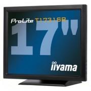 Monitor iiyama T1731SR-B1, 17'' LCD, 5 žilový, 1280x1024, 900:1, 5ms, 200cd, DVI, USB, RS-232