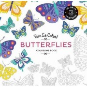Vive le Color! Butterflies (Coloring Book) by Marabout