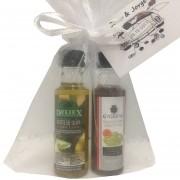 Pack detalle boda miniaturas aceite de oliva y vinagre