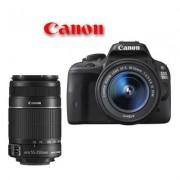 Canon eos 100d + 18-55mm is stm + 55-250mm is ii - man. ita - 2 anni di garanzia