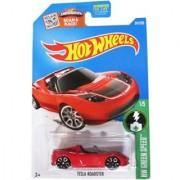 Hot Wheels 2015 HW Green Speed Tesla Roadster [Red] #241 250