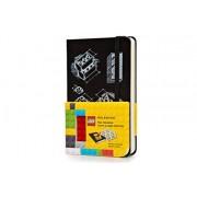 Moleskine Lego Limited Edition Notebook, Pocket, Plain, Black (3.5 X 5.5)