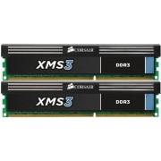 Corsair CMX4GX3M2B1600C9 XMS3 4GB (2x2GB) DDR3 1600 Mhz CL9 Mémoire pour ordinateur de bureau performante.