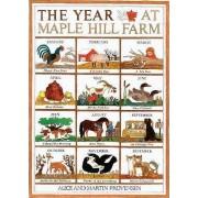 The Year at Maple Hill Farm by Alice Provensen Provensen