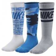 Nike Graphic Cotton Cushion Crew Kids' Socks (3 Pair)