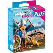 Комплект Плеймобил 5371 - Викинг със съкровище - Playmobil, 291136