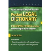 Spanish-English/English-Spanish Pocket Legal Dictionary by James Nolan