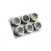 Set Magnetic 6 Recipiente Condimente GR329