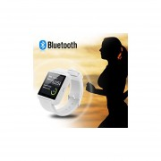 Bluetooth Smart Watch Fit For Samsung Galaxy S4/S5/S6 Edge Note 3/4/5 HTC Nexus Sony LG Huawei Android Smartphones (Black) (White)