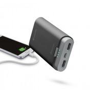 Външна батерия Cellularline 7800 mAh с два USB входа (черна)