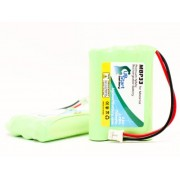 2x Pack - Motorola TFL3X44AAA900 Battery - Replacement for Motorola MBP33, MBP36 Baby Monitor Battery (700mAh, 3.6V, NI-MH)