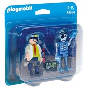 Playmobil 6844 Scientist With Robot Duo Pack New 2016