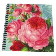 "3d Rose Db 60597 2 English Roses Watercolor Memory Book, 12 By 12"""