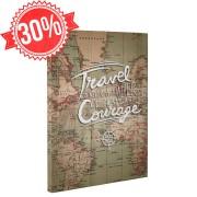 Travel and courage - Vászonkép - 45x60 cm