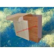 přebalovací pult C9 dekor lamina olše