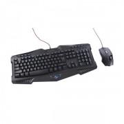 Kit Tastatura si Mouse Gaming Combo Segotep GT7600 (Negru)