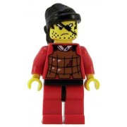 Lego Castle Minifigure: Ninja Robber with Brown Vest