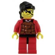 Lego Castle Minifigure: Ninja Robber with Brown Vest