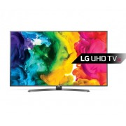 "LG 49UH661V LED TV 49"" Ultra HD, WebOS 3.0 SMART, T2, Metal/Titan, Crescent stand"