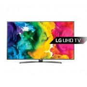 "LG 49UH661V LED TV 49"" Ultra HD, WebOS 3.0 SMART, T2, Metal/Titan, Crescent stand"