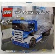 СИН КАМИОН ЛЕГО СЪСТЕЗАТЕЛИ, Lego Racers Truck Set in Sealed Polybag, 30033