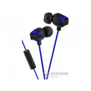 Căşti cu microfon JVC HA-FR201 Xtreme Xplosives, negru-albastru