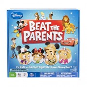 Disney Beat The Parents Board Game - Who Knows Disney Best? by Spin Master Games [Toy] (English Manual)