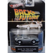 Back To The Future Time Machine DeLOREAN Hot Wheels Retro by Hot Wheels