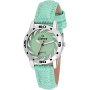 GIONEE MRT-005 ANALOG GREEN DIAL WATCH - FOR GIRL'S & WOMENS
