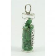 Ezoterikus üveg medál - Aventurin