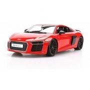 1:18 Maisto Audi R8 V10 Plus Orange Red Diecast Model Car Vehicle New in Box