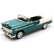 Motormax 1/18 Scale - 73185 1955 Chevy Bel Air Green / white