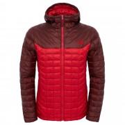 The North Face Thermoball Hoodie Herren Gr. S - rot rotbraun / TNF red/sequoia red - Wattierte Kunstfaserjacken